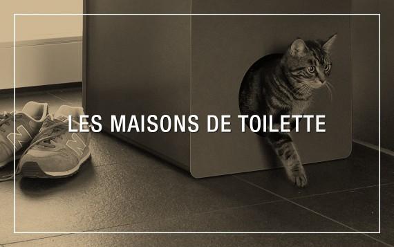 Maisons de Toilette design pour chat